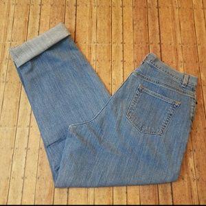 Vintage L.L.Bean High Rise Mom Jeans